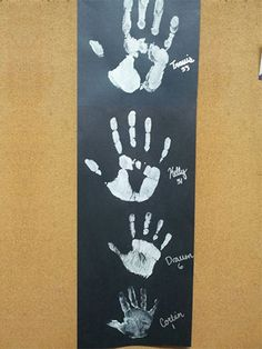 Family Handprints is a fun activity for toddlers. This activity provides an excellent opportunity to bring a family or classroom together and capture a moment in time—perfect for the back-to-school season!