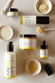 Suki organic, balancing face products - anthropologie.com or whole foods