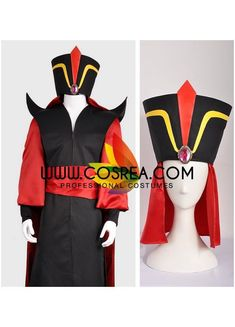 Cosplay Costume Aladdin Jafar Cosplay Costume - Costume Detail Aladdin Jafar Complete Cosplay Costume Includes Hat, Costume Set, Waist Tie, Cape Please see info tabs above for more information and shop. Costume Aladdin, Jafar Costume, Aladdin Cosplay, Genie Costume, Belle Cosplay, Diy Costumes, Cosplay Costumes, Halloween Costumes, Party Costumes