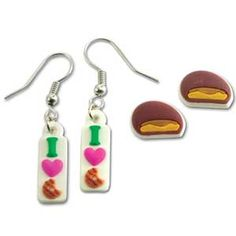 Girl Scout Cookie earrings and they smell like the actual cookies!