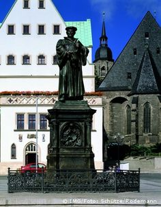 Lutherstadt Eisleben, Germany. Being the hometown of Martin Luther, this city has a lot of historical sites.