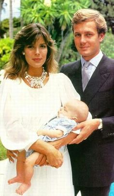 1984 - Princess Caroline and Stefano Casiraghi and baby Andrea.......  GOOD NEWS!!  ....  Register for the RMR4 International.info Product Line Showcase Webinar Broadcast at:  www.rmr4international.info/500_tasty_diabetic_recipes.htm    ............      Don't miss our webinar!❤........    www.rmr4international.info