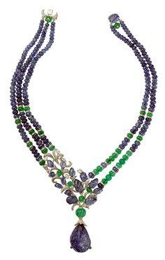 L'Odyssée de Cartier high jewellery necklace