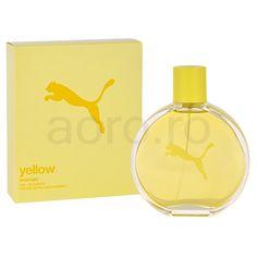 Puma Yellow Woman Eau de Toilette pentru femei 60 ml