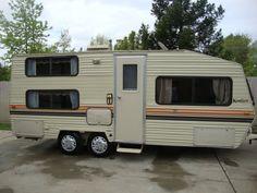 Vehicle Storage, Trailer Storage, Boat Storage, Travel Trailer Tires, Vintage Travel Trailers, Cool Rvs, Rv Camping Tips, Storage Facility, Small Cars