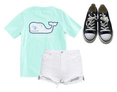 """Won't be active"" by ameliaaamary ❤ liked on Polyvore featuring Vineyard Vines and Converse"