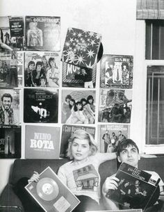 Debbie Harry , Love the records on the walls