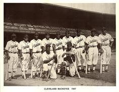 Negro Leagues -- The Cleveland Buckeyes, 1947