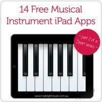 14 Free Musical Instrument iPad Apps [part 2 in a series of 5 posts] - Midnight Music http://www.midnightmusic.com.au/2013/05/14-free-musical-instrument-apps/