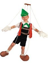 Boys Pinocchio Puppet Costume -TV, Movie Costumes -Boys Costumes -Halloween Costumes - Party City