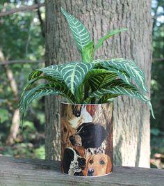 The Dog Lover Planter or Centerpiece by Bird by BirdFeederGuy