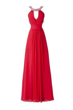 Vestidos de festa da Pronovias 2014. #casamento #vestidocomprido #convidadas #madrinhas #vermelho