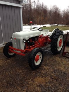 1940 Ford 9N tractor.