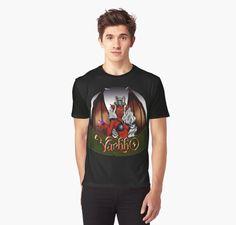 Camiseta gráfica de Varbbo #fantasy #art #shop #shirt #ilustración #diablesa