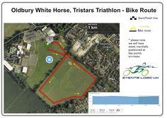 Oldbury White Horse Triathlon, Children's Tri Star Triathlon Bike Route | Events Logic UK | Be Part Of It!