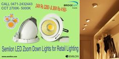 Save up to 60W. LED halogen replacement lamps from Semilon