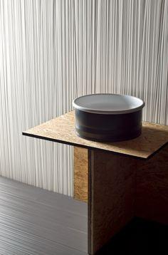 Indoor porcelain stoneware wall tiles TOILE COTONE - MUTINA