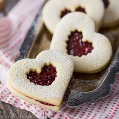 Buttery shortbread hearts are sandwiched with a sweet homemade raspberry jam filling.  These classic Linzer cookies make a lovely holiday treat!    It's the last weekday before Valentine's Day!  Are you ready?  Do you have all the cards written out and the little gifts bought? Or is there maybe someone lingering on your list that could... Read More »