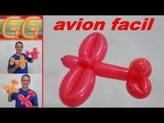 AVION FIGURA FACIL .- EASY AIRPLANE BALLOON . - YouTube