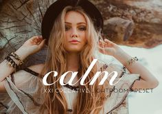 Calm | Professional LR Preset by XXICREATIVE on @Graphicsauthor