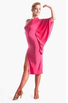 """Fabulous in Pink"" Latin Ballroom Dance Dress"