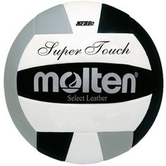 Molten Super Touch Volleyball NFHS Approved Official Size and Weight, Premium Japanese Leather Cover Uni-Bladder Cotton Wrapped Construction Indoor Use, Year Warranty Volleyball Gear, Volleyball Hairstyles, High School Programs, Ohio State Football, American Football, College Football, School Levels, Leather Cover