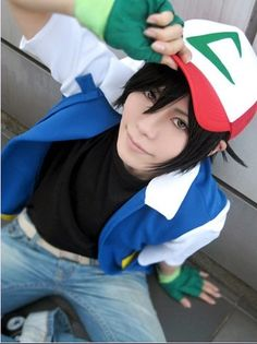 Ash Ketchum cosplay. AWESOME!!!!                                                                                                                                                                                 More