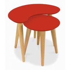 Casa Oslo Nest Of Tables - Orange