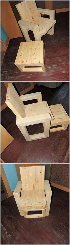 Stepping up with some different ideas of using old shipping pallets, here we will make you introduce with this antique style of creation. As you would gaze it for the first time, you will probably be taking it as the chair pairing piece work where the center table design project is part of it.