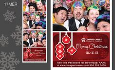 17MER Dazzle your guests with this #holiday graphic! #photobooth  imagecinema.com
