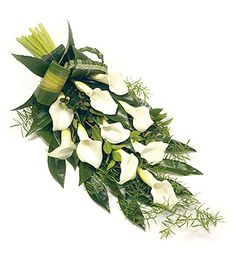 26 Ideas For Flowers Arrangements Funeral Casket Sprays Funeral Bouquet, Funeral Flowers, Funeral Floral Arrangements, Flower Arrangements, Funeral Caskets, Funeral Sprays, Mason Jar Flowers, Diy Flowers, Casket Sprays