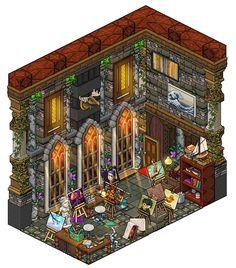 Mansion - Hobby room by Cutiezor.deviantart.com on @DeviantArt