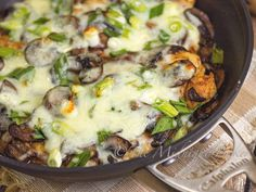 Chicken Lombardy | bakeatmidnite.com | #chicken #mushrooms #marsala #copycat #recipe