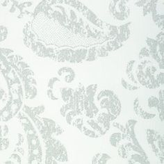 Medallion White #windowtreatments #windows #modernwindowtreatments #colors #patterns #medallion #silverandwhite