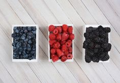 Mini Crates of Berries by Steve Cukrov Photography on Creative Market