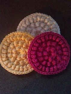 Cotton Wash Cloth ~ free pattern ᛡ