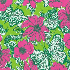 Lilly Pulitzer Print : Bloomin Cocoonin'
