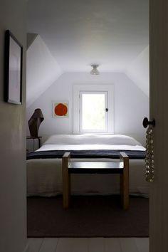 Calvin Tsao and Zack McKown, bedroom slope ceiling