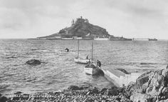 ST MICHAEL'S MOUNT | Cornwall: From the Marazion Causeway end ✫ღ⊰n