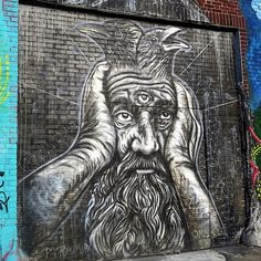 Curious Characters on NYC Streets, Part VII: Fanakapan, Bebar, Telleache, Pyramid Oracle and Mr Nerds Street Wall Art, Street Art Banksy, Graffiti Artwork, Street Artists, Urban Art, Art World, Creative Art, Cool Art, Art Gallery