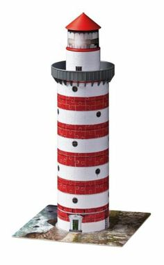 "Lighthouse Puzzle - Ravensburger - Toys""R""Us Art Activities For Kids, Diy Crafts For Kids, Art For Kids, Ravensburger Puzzle, 3d Jigsaw Puzzles, 3d Building, Cool Toys, Kids Toys, Holiday Decor"