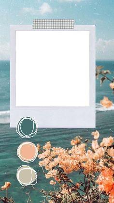 # storytemplates # igstory - G # Vorlagen - Polaroid Picture Frame, Polaroid Pictures, Polaroid Frame Png, Polaroids, Creative Instagram Stories, Instagram Story Ideas, Collage Foto, Polaroid Template, Instagram Frame Template