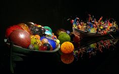 *Chihuly...Glass art...At the de Young, SF,Ca. wasThere!! ♥