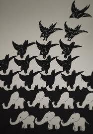 Burung oh Gajah Mc Escher Art, Escher Kunst, Illusion Kunst, Illusion Art, Op Art, Escher Tessellations, Illustration, Mark Rothko, Dutch Artists
