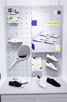 Retail Graphics, Retail Design, Retail Designers, Brand Identity, Retail Design Agency, The One Off, La Coste Footwear