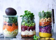 Salater der mætter