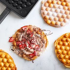 Strawberry+Nutella<sup>®</sup>+Bubble+Waffle+-+The+Pampered+Chef®