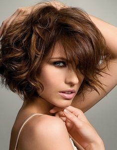 For a new hairstyle maybe mom? 2011 Medium Curly Hair Styles For amber Medium Curly, Short Wavy Hair, Medium Hair Styles, Short Hair Styles, Thick Hair, Curly Bob, Bob Styles, Med Curly Hair Styles, Hair Medium