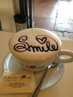 Smile often...