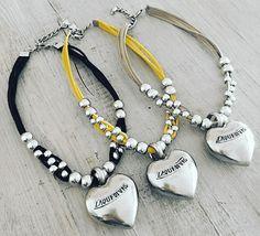Choker Silver Heart